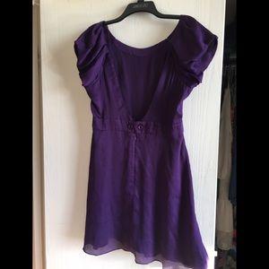 BCBG Dress Plum Size 10